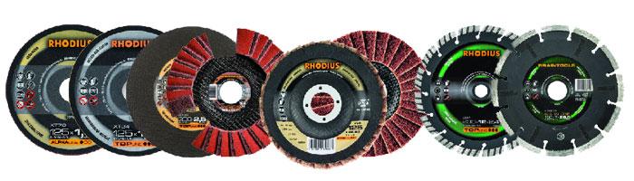 Отрезные круги Rhodius по цветным металлам